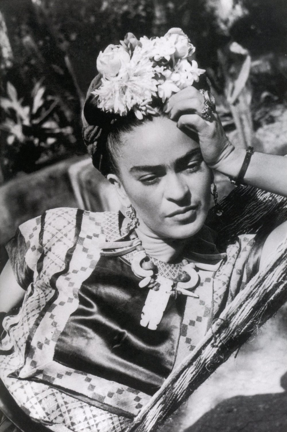 "Frida Kahlo, one of the GREATS ™ .  She was a renowned surrealist, Mexican painter who inspired many with her art work.  She once said, ""Feet, what do I need you for when I have wings to fly?"" affirming her own greatness."