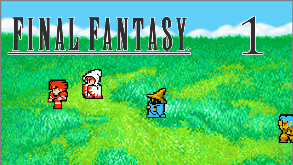 Final Fantasy 1 Part 1 -Our Adventure Begins - David starts his solo series playing the PlayStation remake of the original Final Fantasy. All journeys begins somewhere.