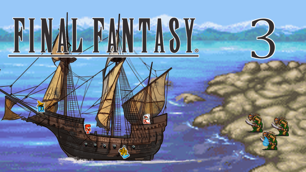 MATOYA AND PRAVOCA - Final Fantasy - Part 3 - A few downfalls, a few deaths, but David and Co. make their way to Pravoca and