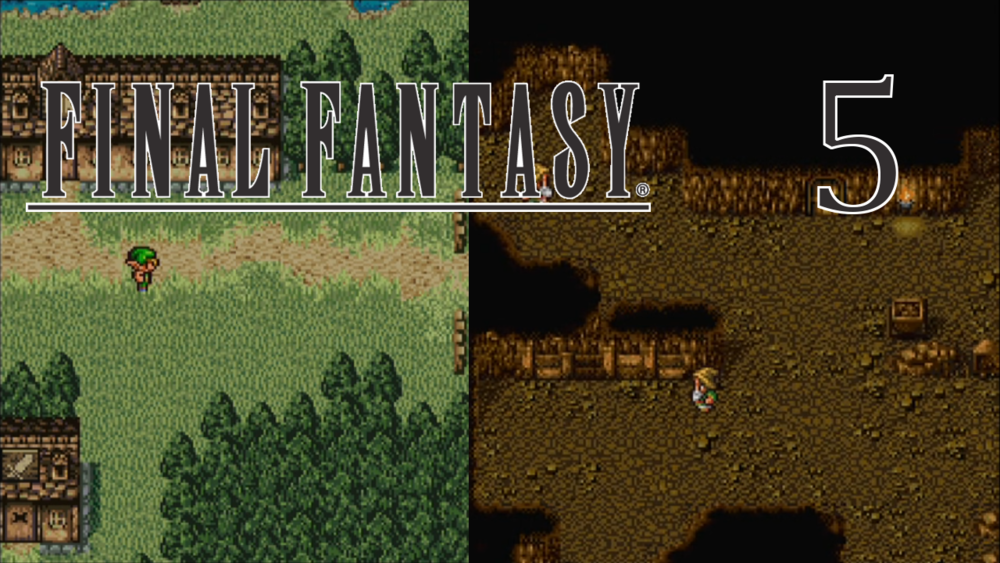 SLEEPING ELF PRINCE - Final Fantasy - Part 5 - David visits the dwarves and elves just to find more dead-ends and fetch quests.