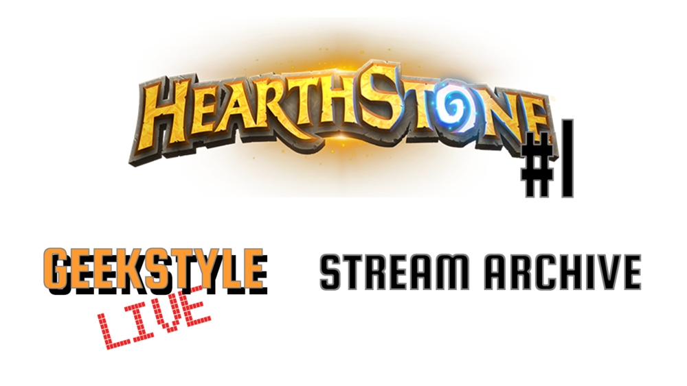 Hearthstone #1 | Stream Archive  - Original stream date May 21, 2017.Angel plays Hearthstone and gets her butt kicked.Live on Twitch ➤ https://www.twitch.tv/geekstylelive