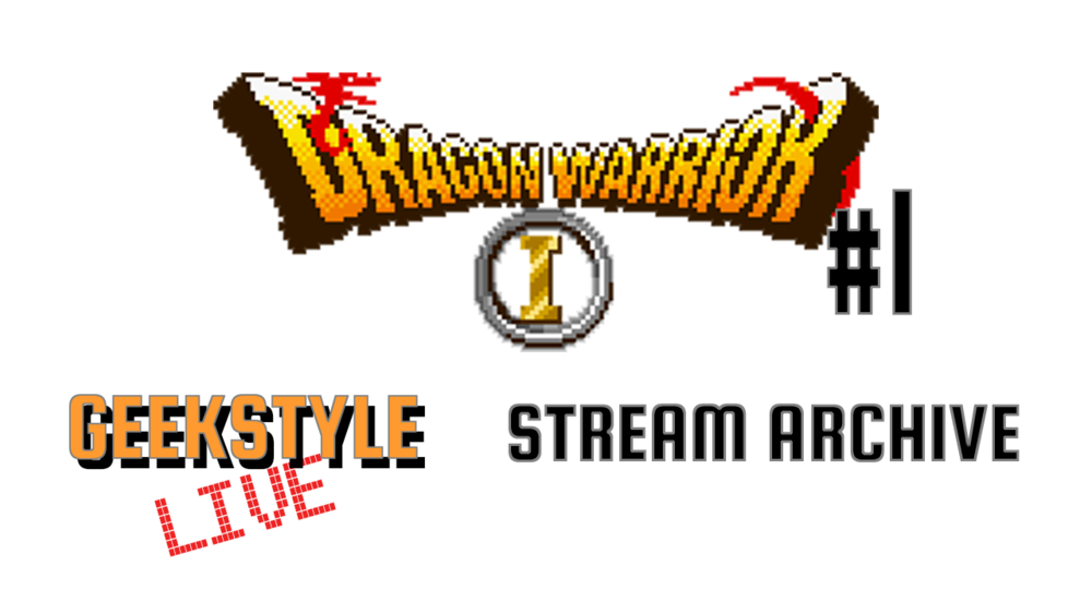 BACK TO THE BEGINNING | Dragon Warrior #1 | Stream Archive - Original stream date May 16, 2017.David goes back to his first RPG, Dragon Warrior. The remake on the Game Boy Color brings back so many nostalgic memories!Live on Twitch Tuesdays ➤ https://www.twitch.tv/geekstylelive