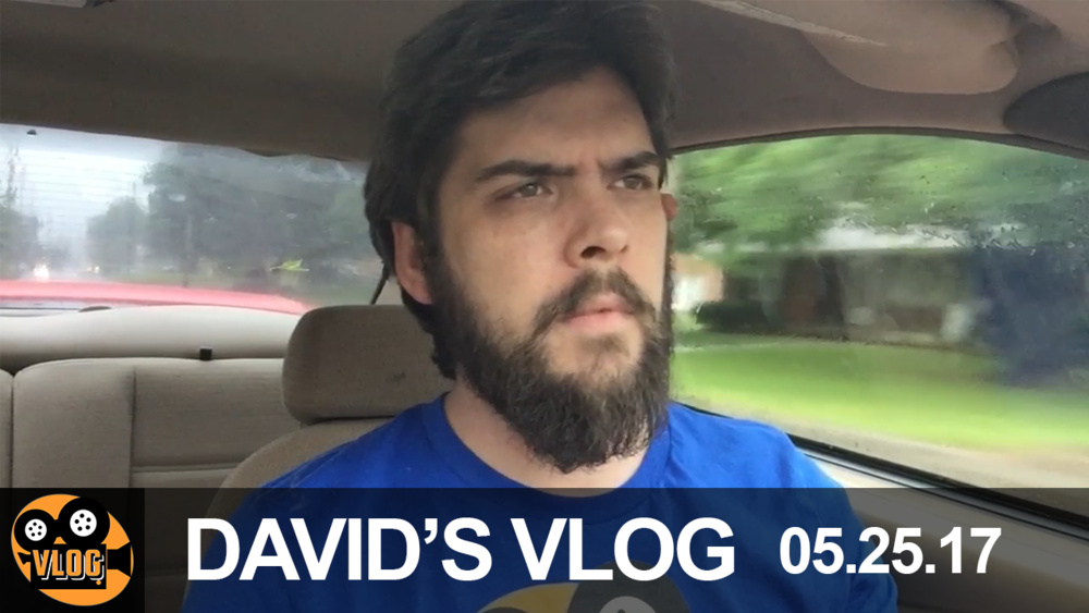 David's Vlog | 05.25.17 - I try my first published vlog. Embarrassing isn't the word to describe it, but I'm pretty proud of my editing.