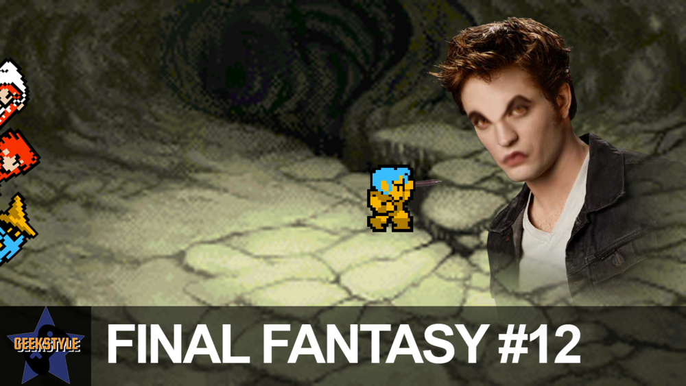 ME VS. EDWARD CULLEN | Final Fantasy #12 - Watch videos 24 hours earlier on the Two Geeks, One Camera site!David and Co. take on the Vampire and turn him to dust!