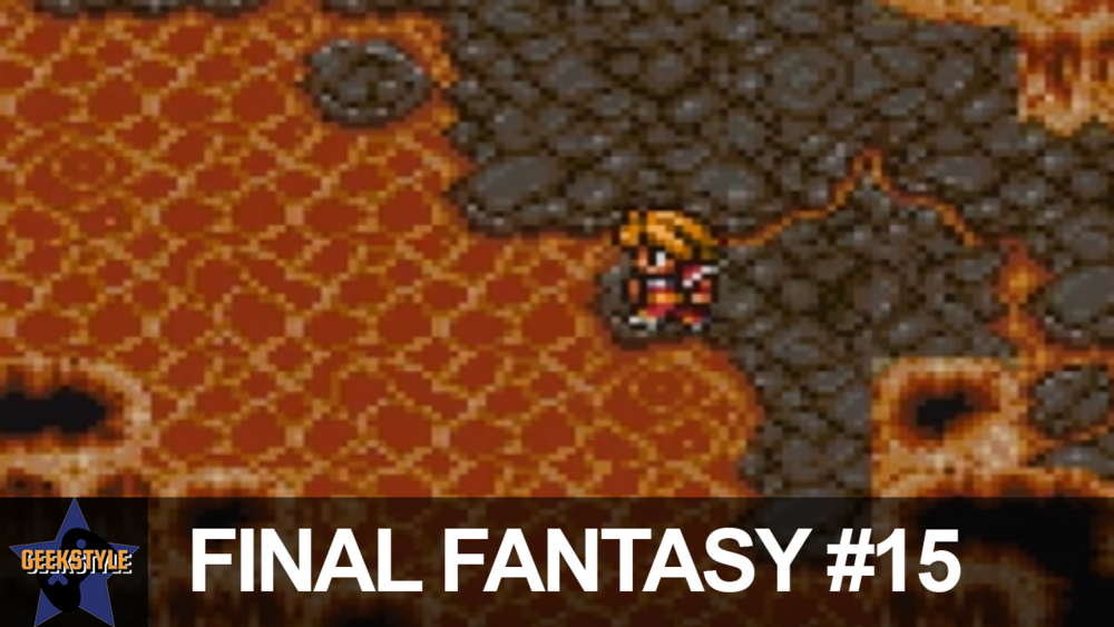 CANOEING THROUGH LAVA | Final Fantasy #15 - David and Co. get the canoe and make their way into Mt. Gulg.