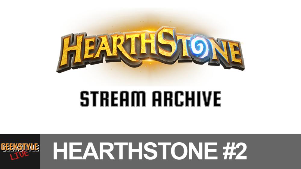 - Original stream date May 21, 2017.Angel streams Hearthstone...again!
