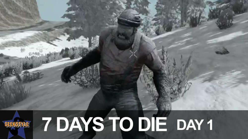 THE END IS HERE | 7 Days to Die | Day 1 - Angel and David start a new 7 Days to Die series. Multicamera views! Full day episodes! Death, chaos, and hilarity!