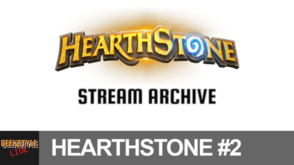 - Original stream date May 21, 2017.Angel streams Hearthstone...again!