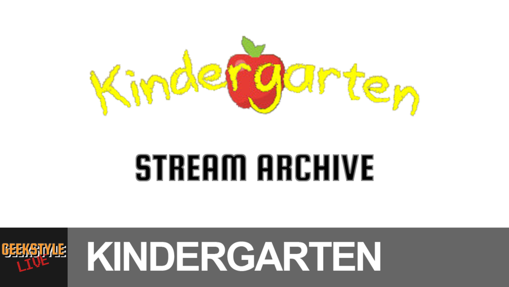 - Original stream date May 21, 2017.Angel streams Kindergarten, a