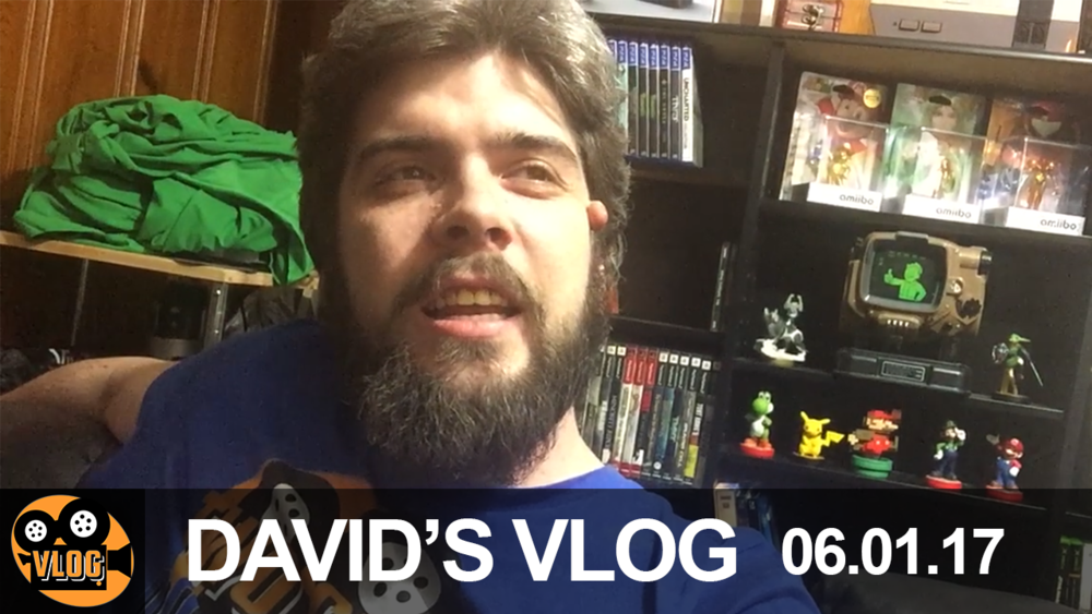 - David suffers some Paqui chips and, as a sign of good faith, the vlogs are going public on YouTube! Be sure to visit the site to see all videos early and some exclusive content.