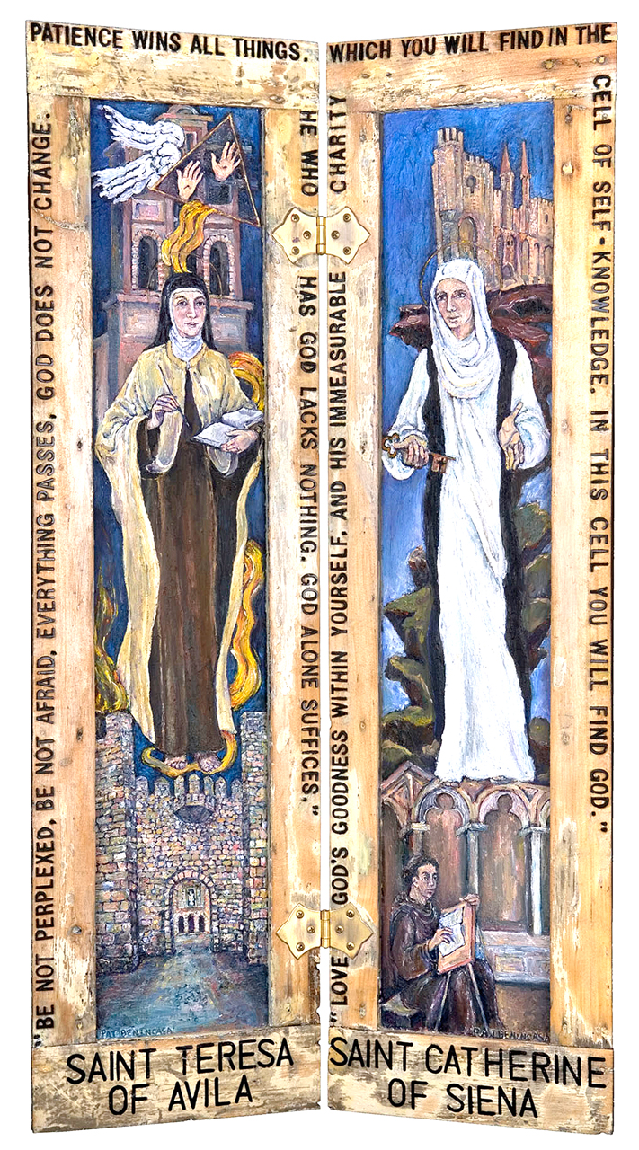 Difficult Saints: Theresa of Avila & Catherine of Siena, 2006