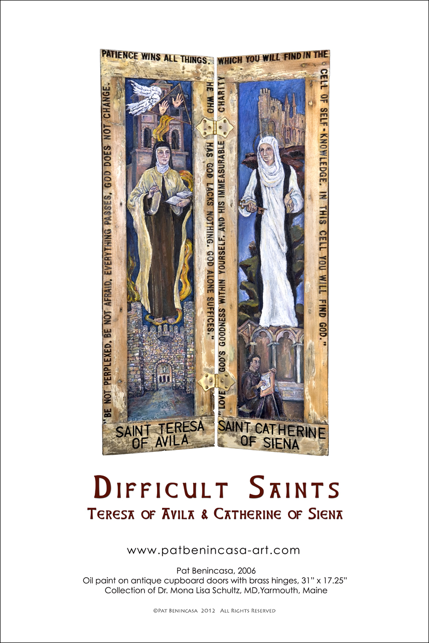 Difficult Saints Poster