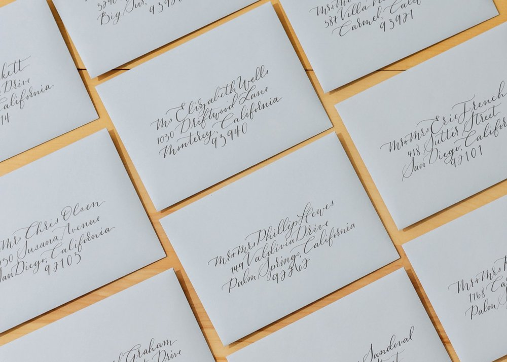 When to Send Your Invitations - SAVE THE DATE6-8 Months before weddingDESTINATION WEDDING INVITATIONS3 Months before weddingWEDDING INVITATIONS6-8 Weeks before weddingRSVP3-4 Weeks before weddingARRANGE DAY OF DETAILS4 Weeks before wedding