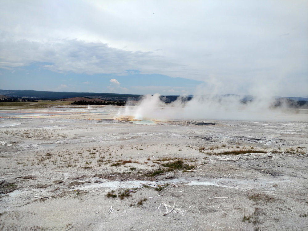Hot Springs, Yellowstone National Park, Wyoming