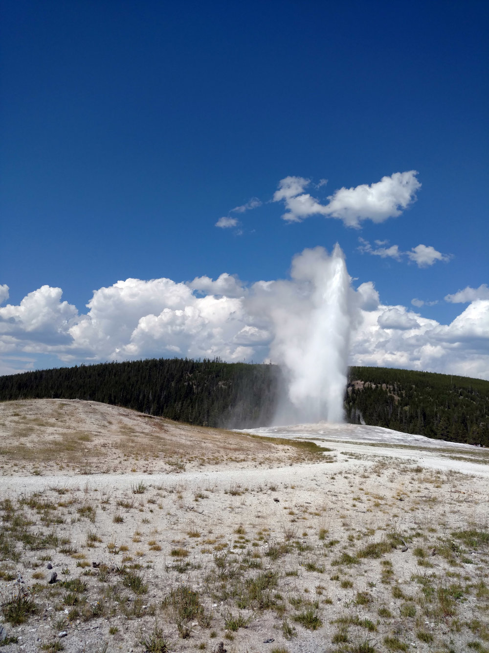 Old Faithful, Yellowstone National Park, Wyoming