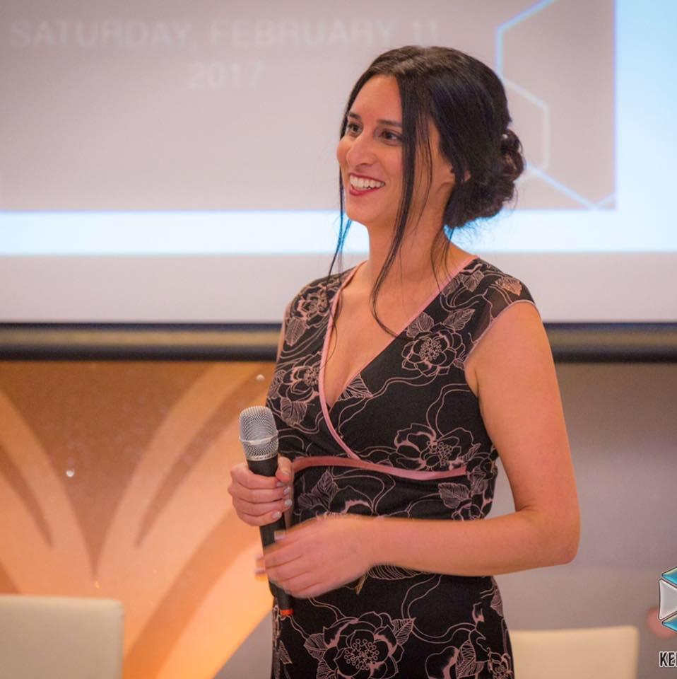 Rachel at CITY Gala (2017)