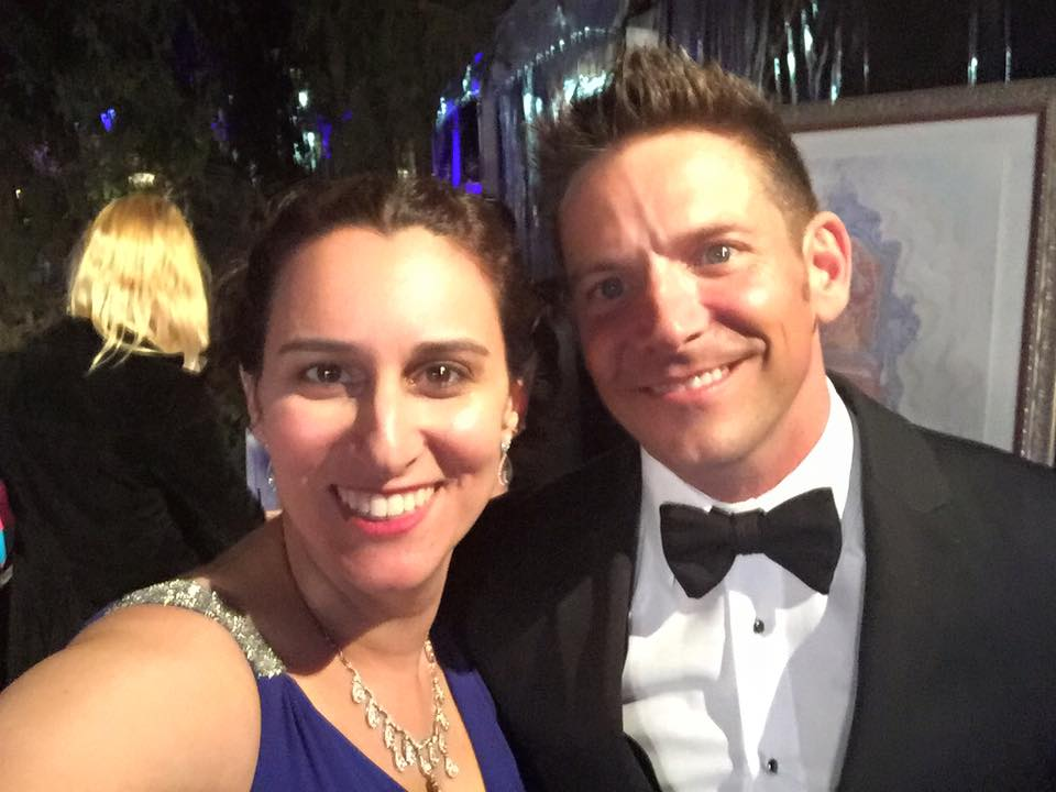 Rachel, Jeff Timmons of 98 Degrees (2017)