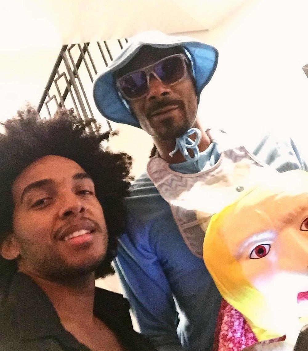Gianluca, Snoop Dogg (2015)
