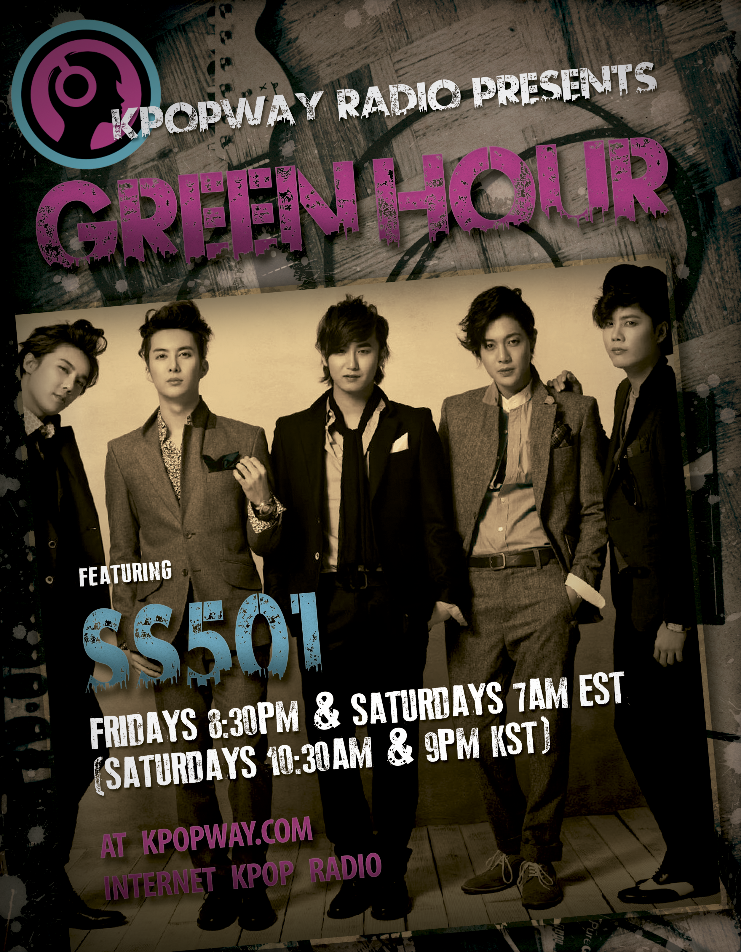 SS501 featured program