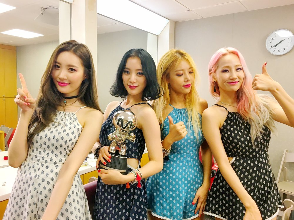 Wonder Girls at Kpopway Radio Mixtape Channel
