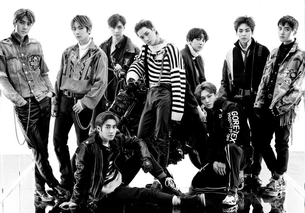 EXO at The Weekly Mixtape