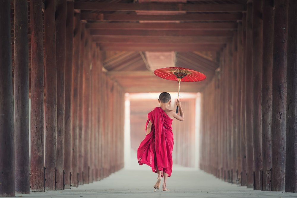 Novice Child Monk