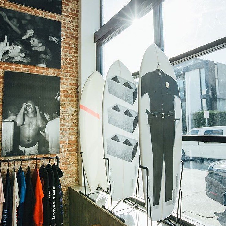 TOKEN POP UP is rocking steady at @generaladmi52ion 👾👾👾 FW 17 prints, General Admission collaboration tees, new batch of boards, and Teddy Fitzgugh's 'Club Archive' photos on display at 52 Brooks, Venice CA http://ift.tt/2w4kjUS