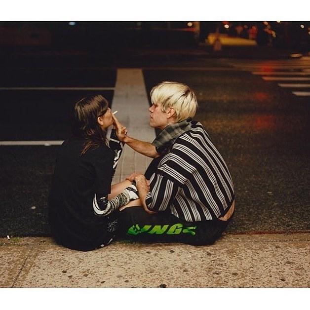 token 'canal' sweatpants for @thefader photographed and styled by @samuelbradley + @shibonleigh http://ift.tt/2v2iZSd