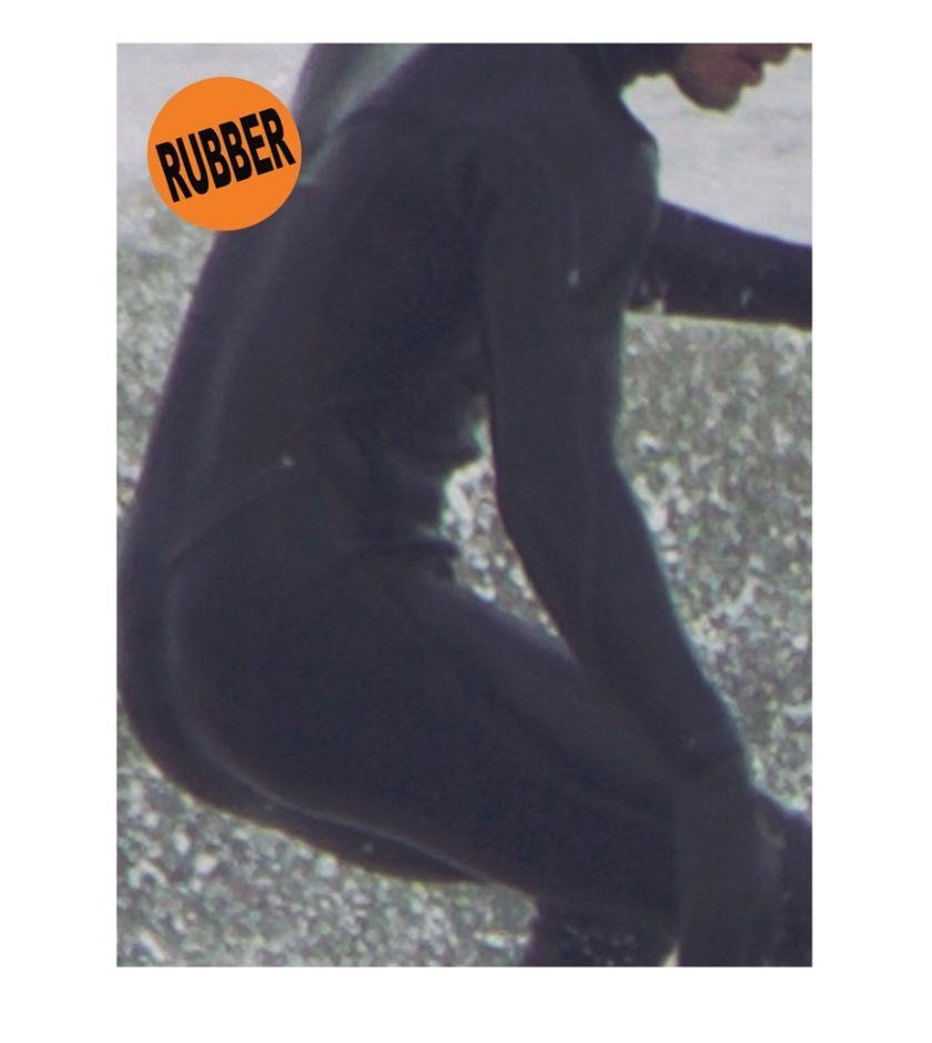 RUBBER ZINE available at MAST BOOKS @mastbooks 🌞 http://ift.tt/2s8xPmg