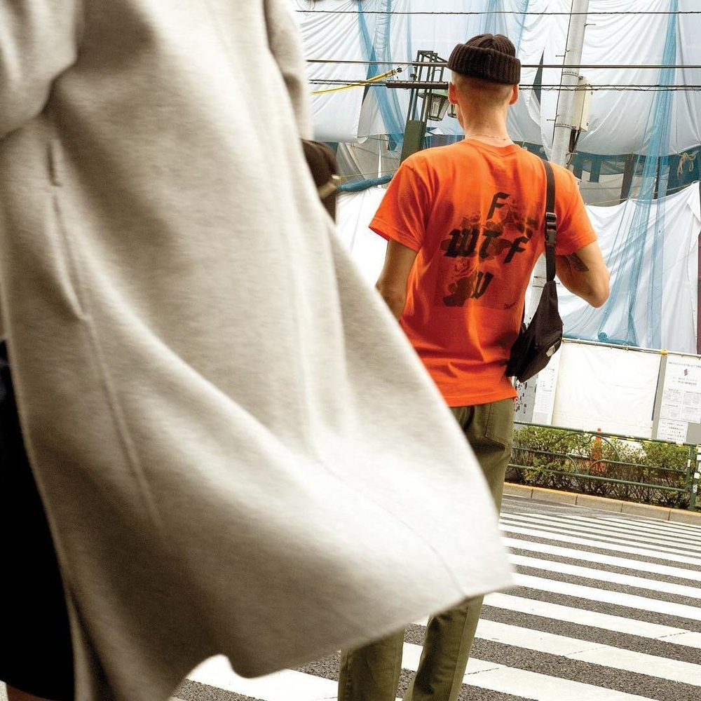 Brian in Tokyo FTW WTF tee @forthosewhocant 👘 http://ift.tt/2vRe5bT