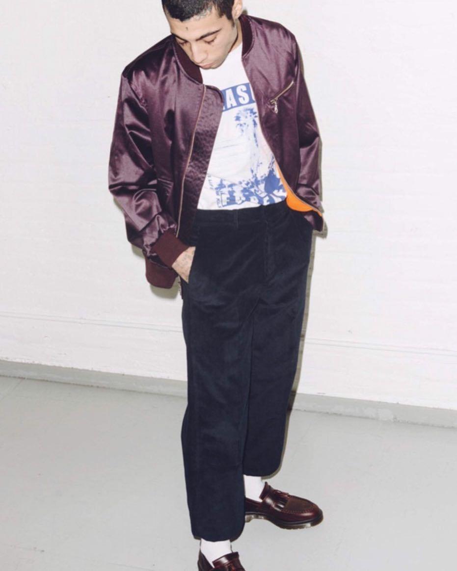 pearl bomber jacket + mott creased corduroys available in Berlin @superconsciousberlin 📷 @manute_bol_lives http