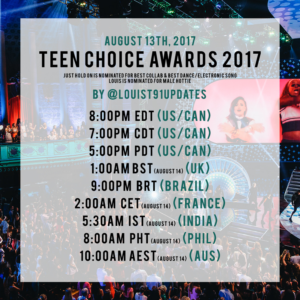 Vote for teen choice awards