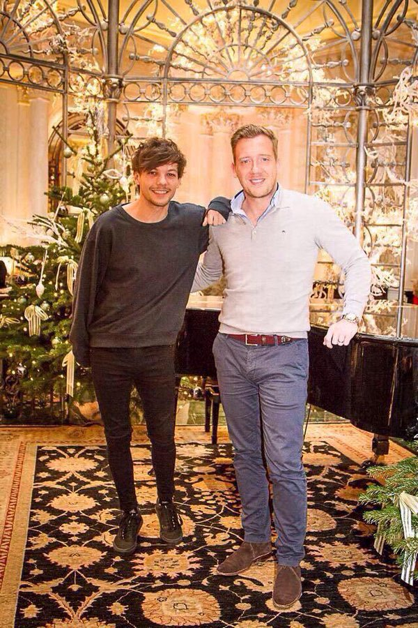 Louis Tomlinson and Daniel Deakin | March 2014.