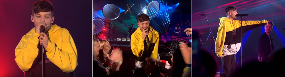 Louis Tomlinson | X Factor |  December 2, 2017