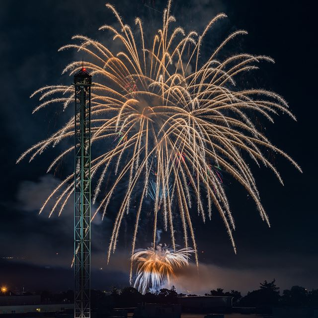 🇺🇸🎇🇺🇸🎆🇺🇸 #fireworks #happy4thofjuly #landscape #photography