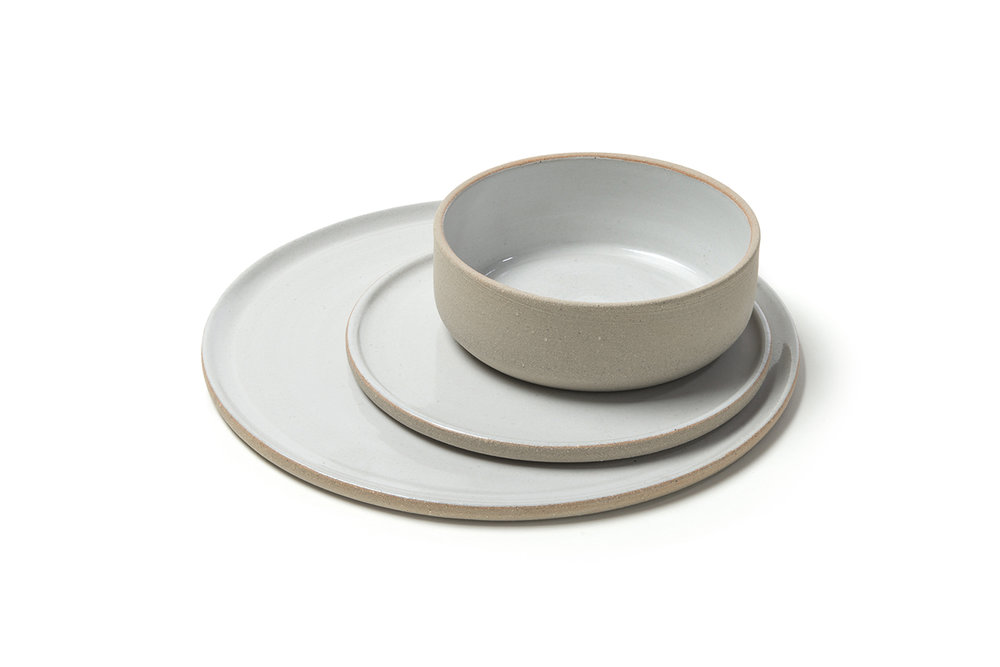 Tufts Luna tableware by Ingrid Tufts