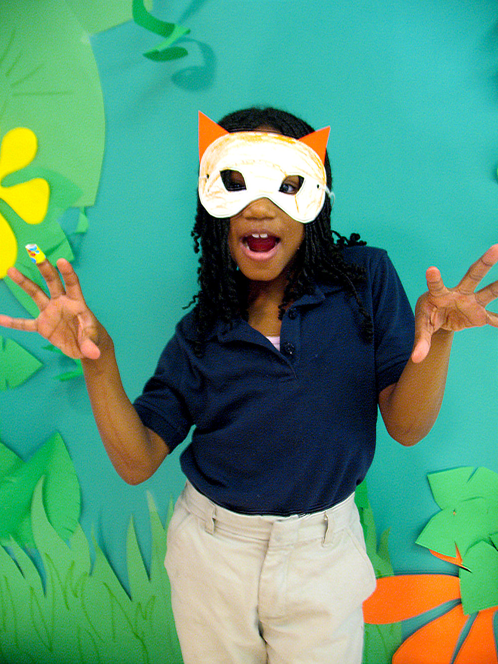 Spirit Animal Mask , 2nd Grade Student Work