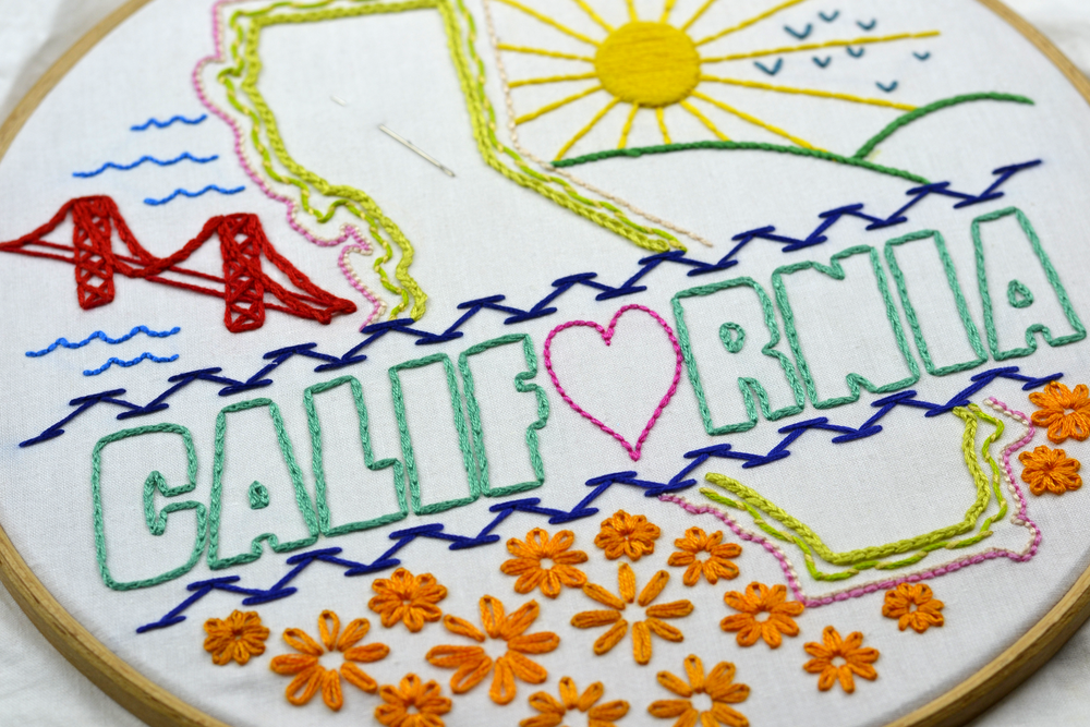 2017   Spring 2017 First Time Embroidery Workshop, Pleasanton Adult Education, Pleasanton, CA  Fall 2017 First Time Embroidery Workshop, Pleasanton Adult Education, Pleasanton, CA