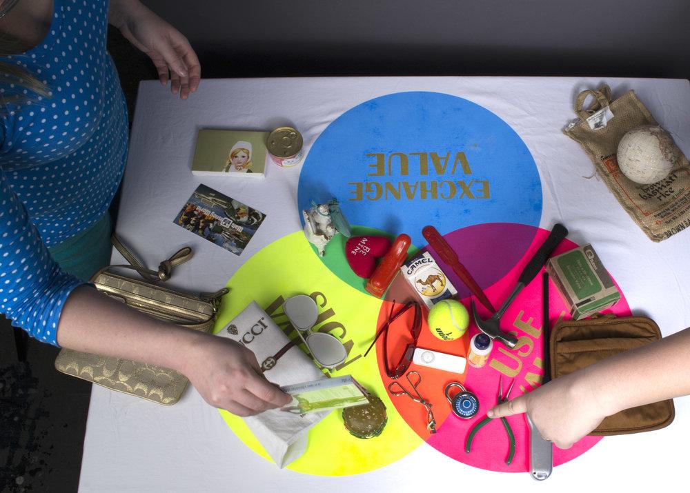 2014   Artist Talk, Lillstreet Loft, Chicago, IL   Object Logic Workshop , Lillstreet Art Center   Continuing Conversations: The Past, Present & Future of the Art vs. Craft Debate , Craft/Work, Beauty & Brawn Gallery, Chicago, IL  Ways of Valuing Workshop, Craft/Work, Beauty & Brawn Gallery, Chicago, IL