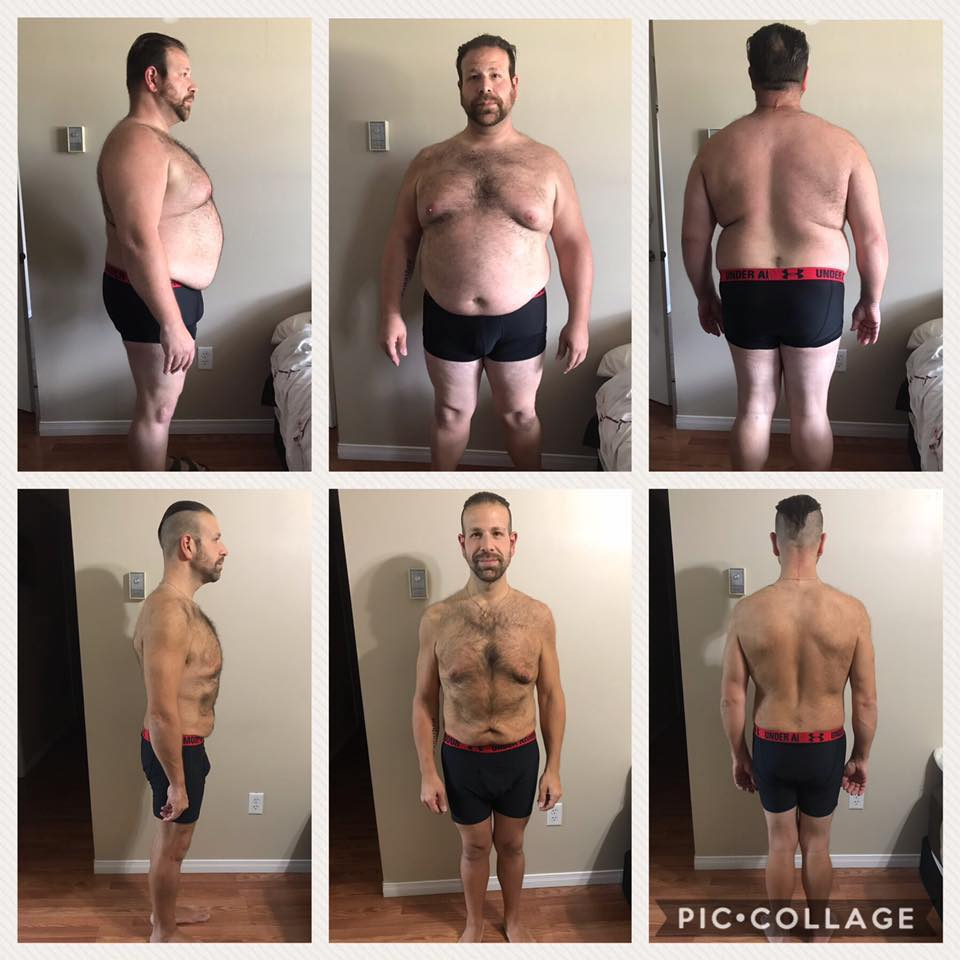 chris weight loss 120 lbs
