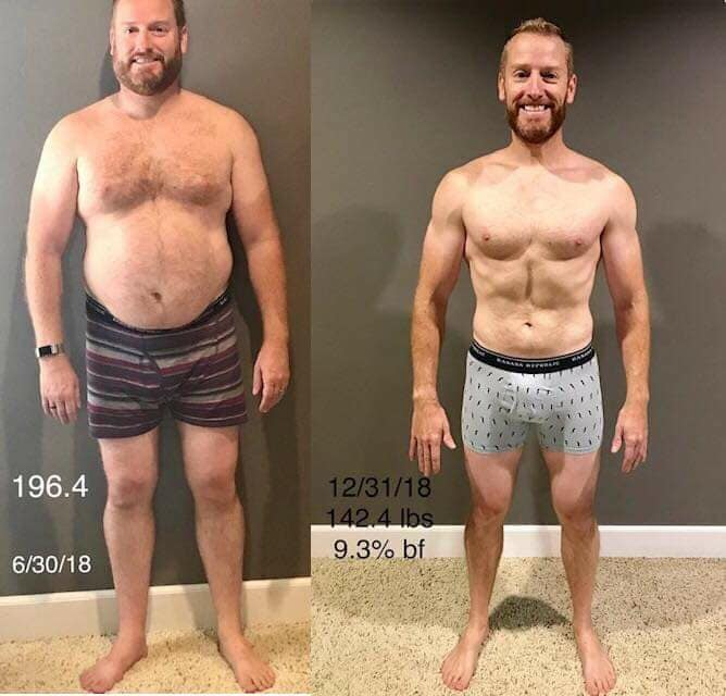 travis weight loss