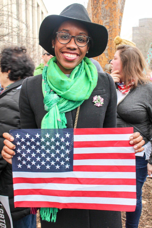Women's March, Washington, DC  January 21, 2017