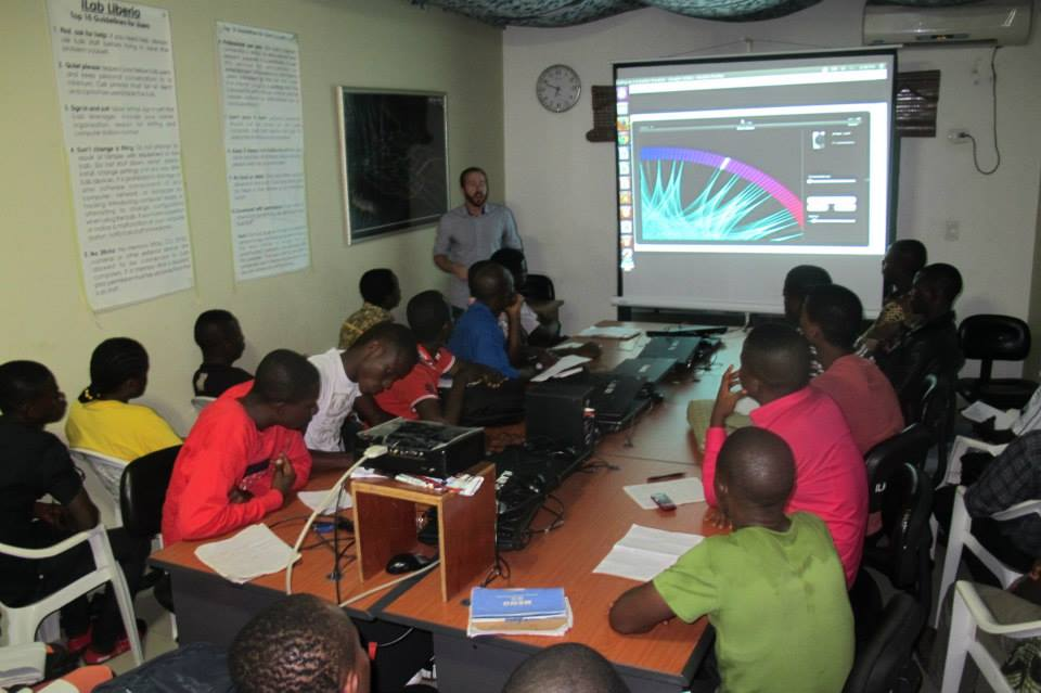 Technology for workforce development at iLab Liberia in Monrovia (www.codeinnovation.com)