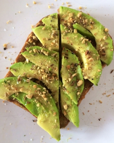 Avocado toast with dukkah on top. Credit: Jeremy Keith