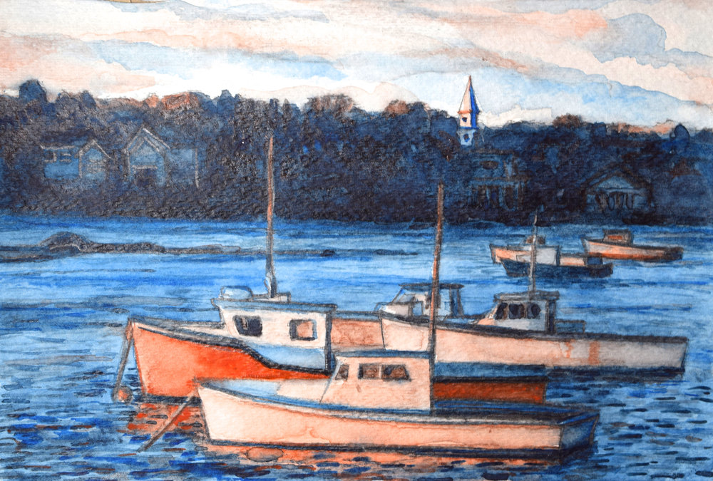 Fishing Boats, New Engand