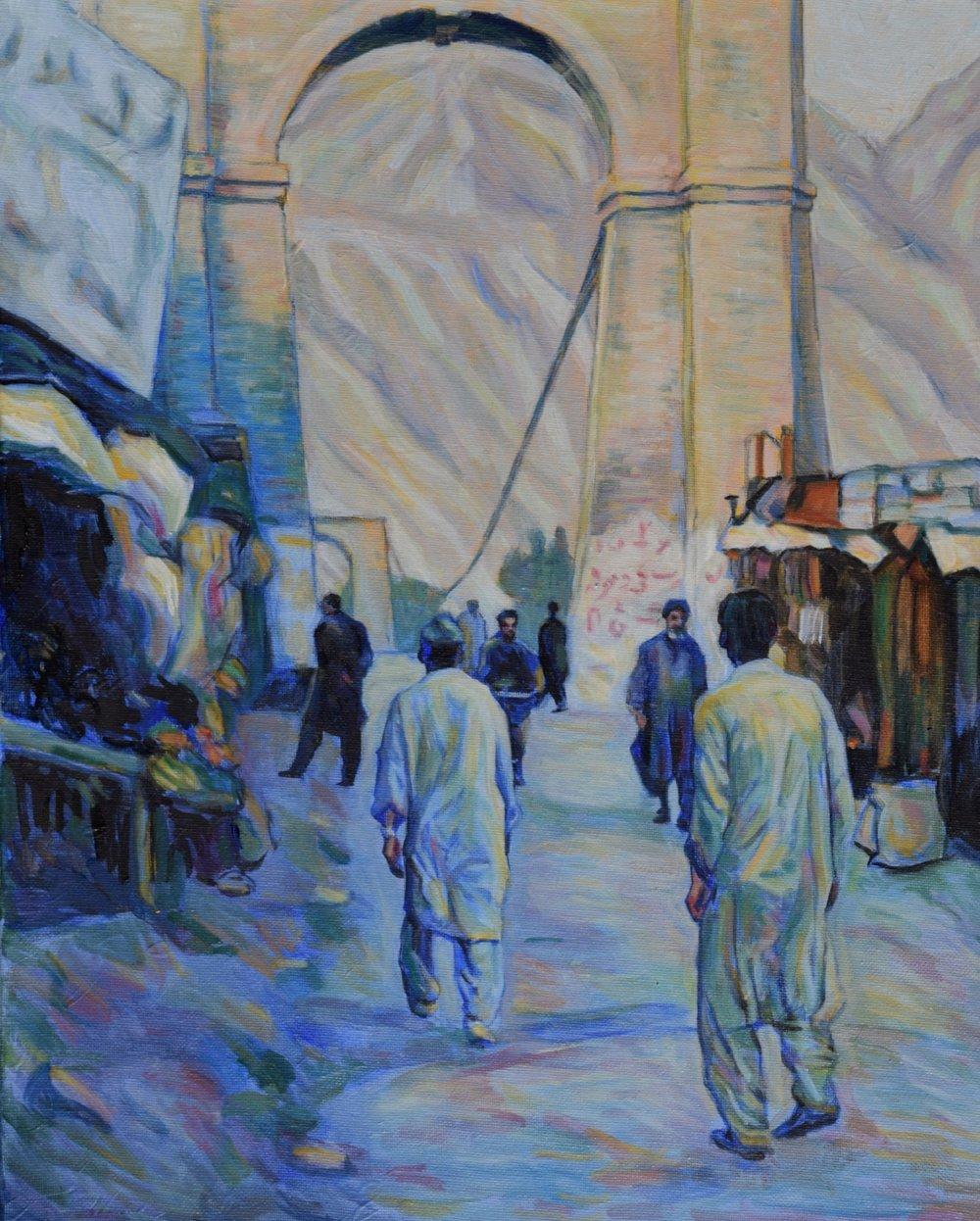 Bazar in Northern Pakistan