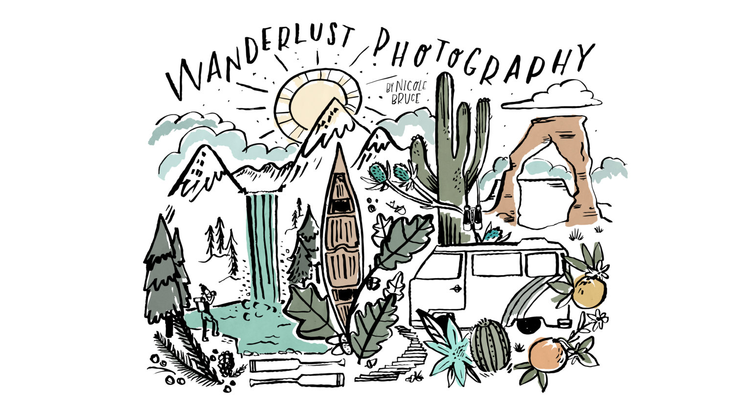 Wanderlust Photography by Nicole Bruce
