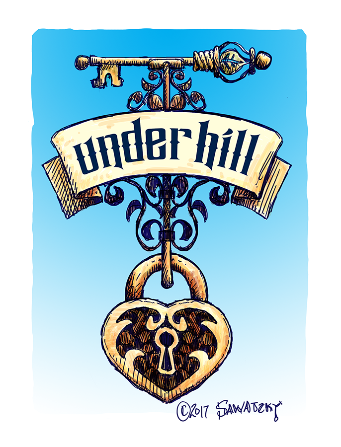 Under Hill Sign Concept