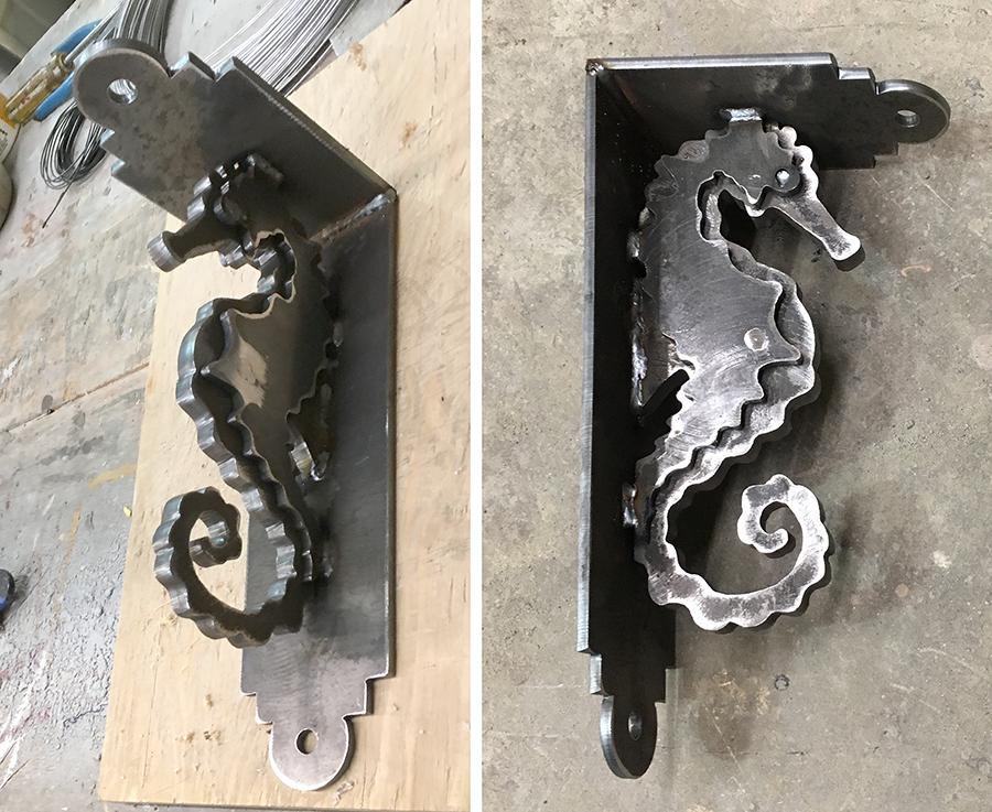 sea horse bracket