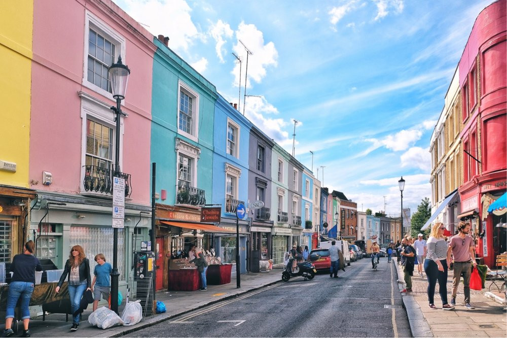 The Pink House of Notting Hill — Rosetinted